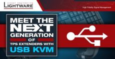USB KVM in the Next Generation of TPS Extenders